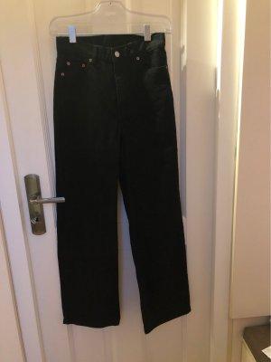 High Waist Jeans black