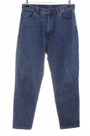 Dr. Denim Hoge taille jeans blauw casual uitstraling