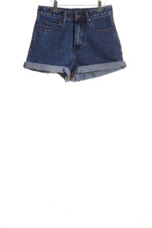 Dr. Denim Hot Pants blau Casual-Look