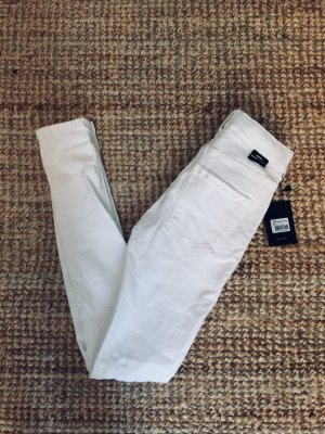 DR DENIM JEANSMAKERS Vaquero skinny blanco