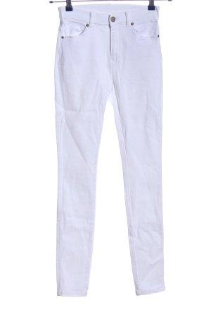 Dr. Denim Skinny Jeans weiß Casual-Look