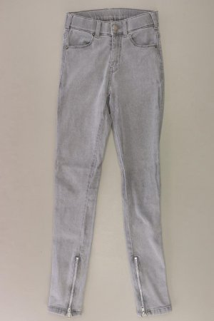 Dr. Denim Skinny Jeans Größe XS grau aus Baumwolle