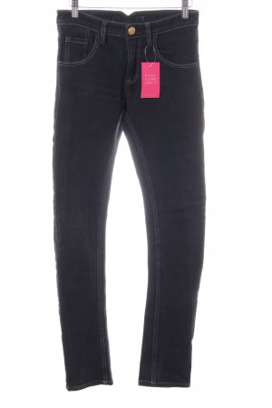 Dr. Denim Slim Jeans schwarz Casual-Look