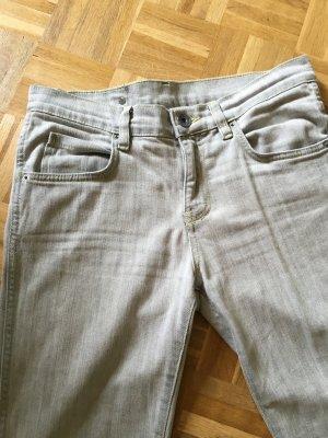 Dr Denim snap Jeans in hellgrau