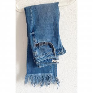 Dr. Denim Straight Leg Jeans Glitzer Blue