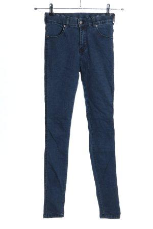 Dr. Denim Stretch Jeans blau Casual-Look