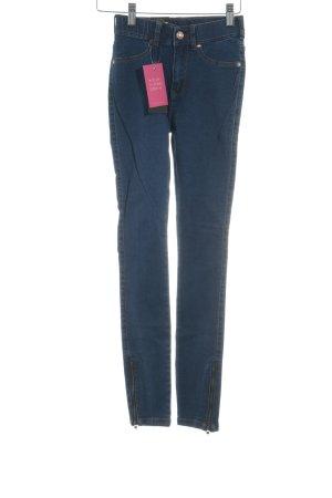 Dr. Denim Stretch Jeans dunkelblau Casual-Look
