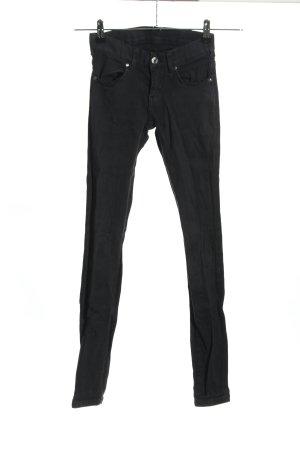 Dr. Denim Stretch Jeans schwarz Casual-Look