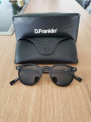 Dr. Franklin Lunettes de soleil ovales noir