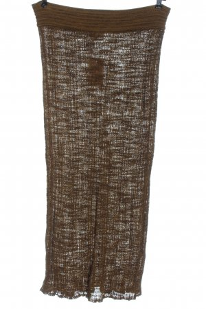 Dr. Haider-Petkov Knitted Skirt brown casual look