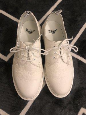 Dr. Martens Zapatos brogue blanco