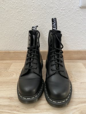 Dr Martens 1460 Mono Suede Ankle Boots