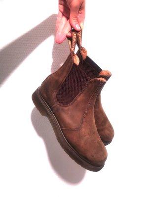 Dr. Martens Chelsea laarzen lichtbruin-grijs-bruin Leer