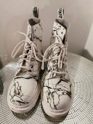 Dr. Martens Botas con cordones blanco