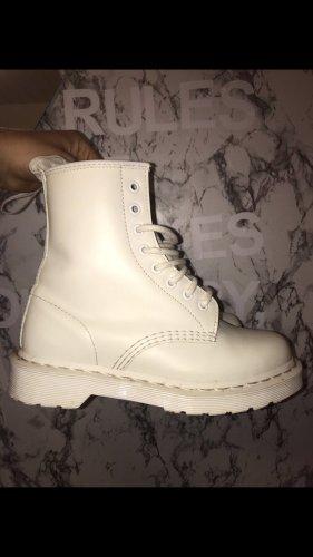 Dr. Martens Gotyckie buty biały
