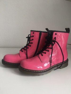 Dr. Martens Botas de combate rosa