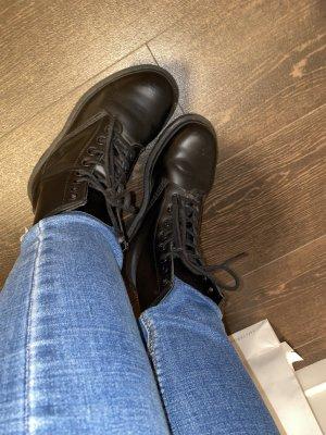 Dr. Martens Korte laarzen zwart