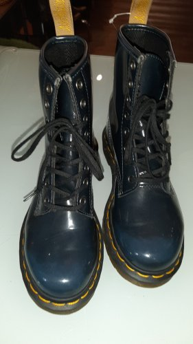 Dr. Martens Combat Boots dark blue