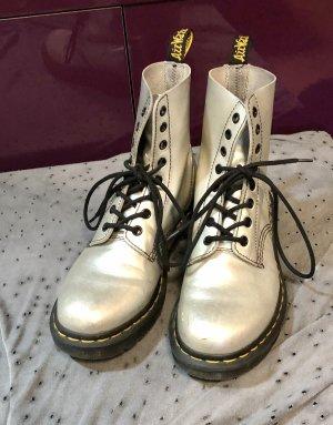 Dr. Martens Boots Silber