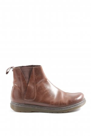 Dr. Martens Chelsea Boots brown casual look