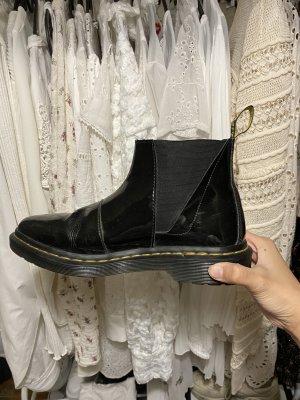 Dr. Martens Chelsea Boots Stiefeletten Bianca glänzend Gr. 38