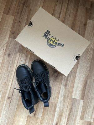 Dr. Martens Bottes à lacets noir cuir
