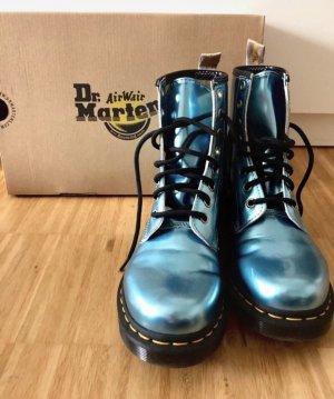 Dr. Martens Gr 37 blau metallic