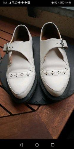 Dr. Martens Zapatos formales sin cordones blanco