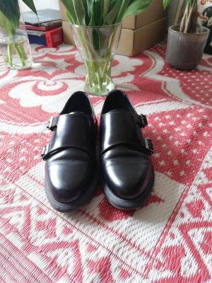 Dr. Martens Zapatos Mary Jane negro Cuero