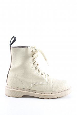 Dr. Martens Buskins white-black striped pattern casual look