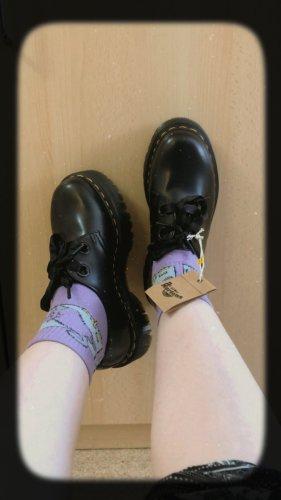 Dr. Martens Krótkie buty czarny Skóra