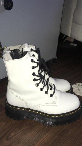 Dr. Martens Krótkie buty czarny-biały