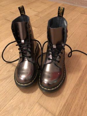 Dr. Martens Aanrijg laarzen brons