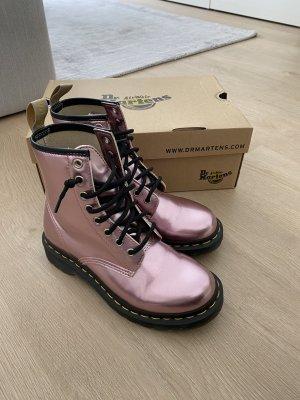 Dr. Martens Botas de tobillo rosa