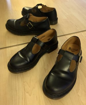Dr. Martens Chaussures Mary Jane noir cuir