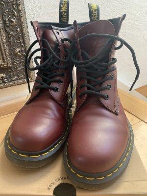 Dr. Martens Aanrijg laarzen bordeaux