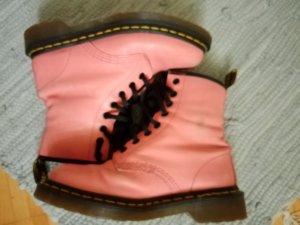 Dr. Martens Stivaletto stringato rosa chiaro-rosa