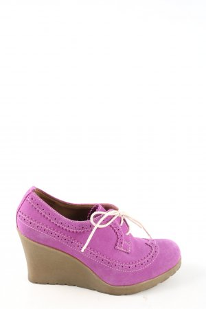 Dr. Martens Lace Shoes pink casual look
