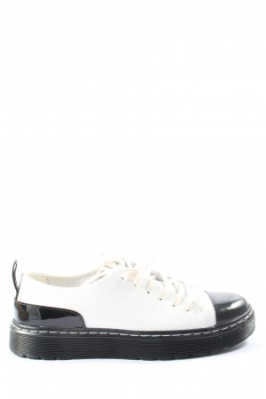 Dr. Martens Lace Shoes white-black casual look