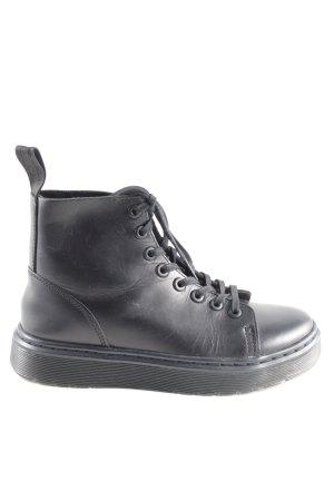Dr. Martens Aanrijg laarzen zwart casual uitstraling