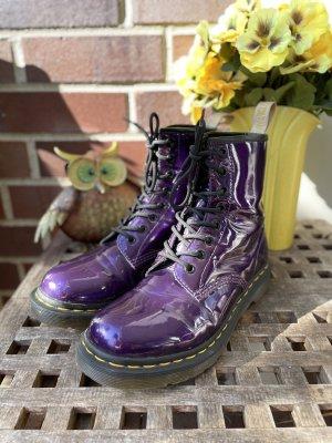 Dr. Martens Bottes à lacets violet