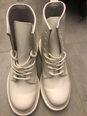 Dr. Martens Botas de tobillo blanco