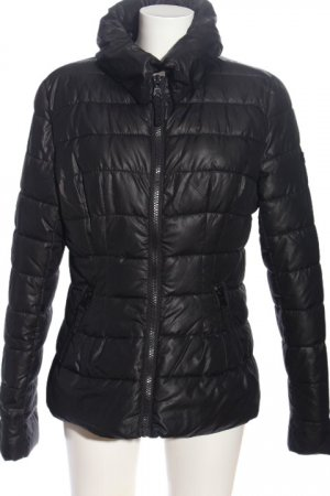 DR. REHFELD Down Jacket black quilting pattern casual look