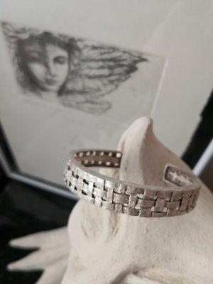 Drachenfels Design Flechtwerk Armreif Silber Massiv