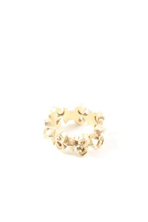 Drachenfels Design Zdobiony pierścionek złoto W stylu biznesowym