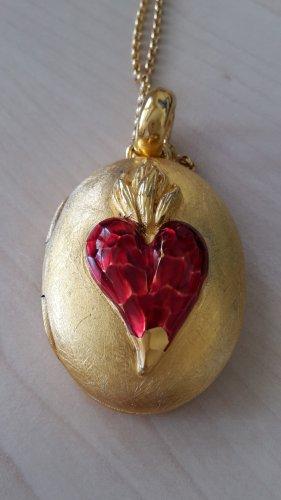 Medaillon goud Zilver