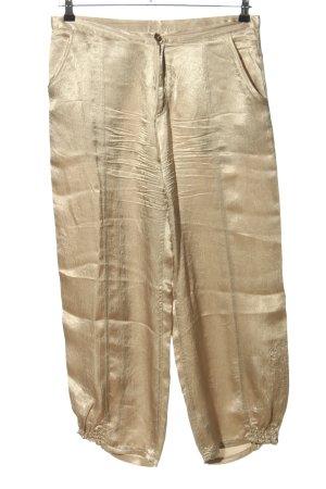 Dranella 7/8-Hose goldfarben Casual-Look