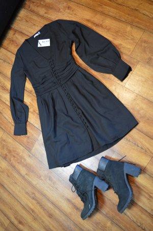 Draped Waist Button Up Kleid Nakd 36/38