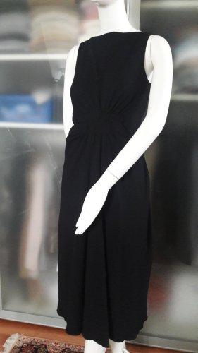 drapiertes Crepe-Kleid