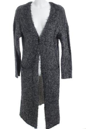 DRDENIM JEANSMAKERS Cardigan grau-schwarz extravaganter Stil